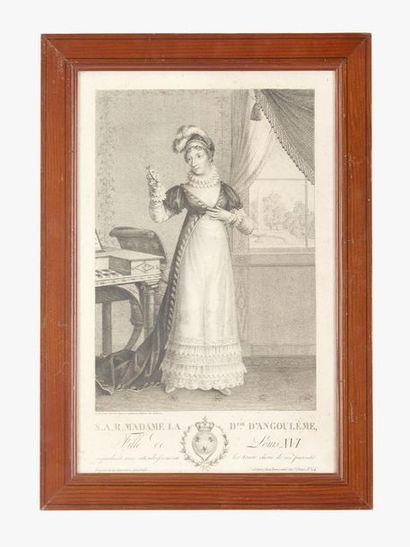 Duchesse d'Angoulême Estampe représentant...