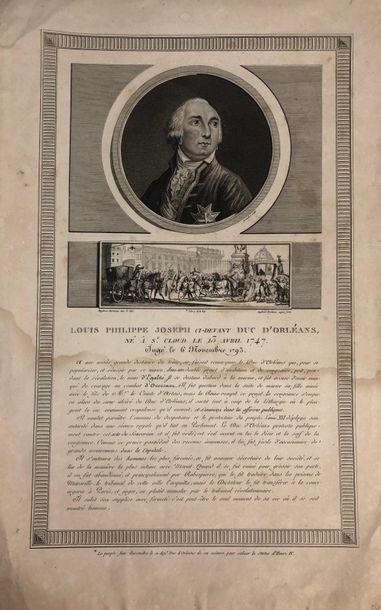 Louis-Philippe d'Orléans dit Le Gros Estampe...