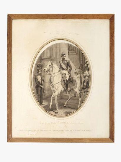 Horace VERNET (1789-1863), d'après. Napoléon...
