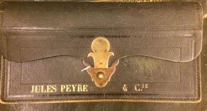 Jules Peyre Cie Portefeuille en cuir vert...