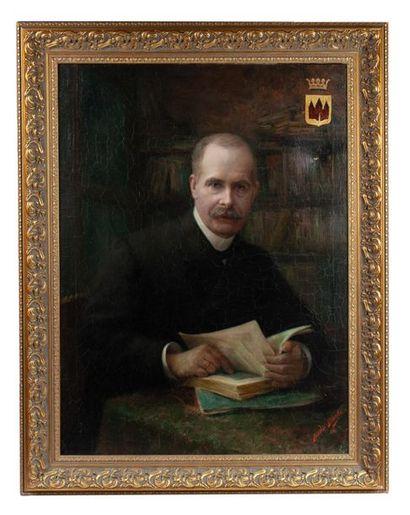 BUYLE Ferdinand (Belgique, 1872-1950). Portrait...