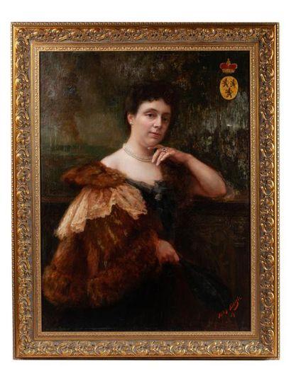 BUYLE Ferdinand (Belgique 1872-1950) Portrait...
