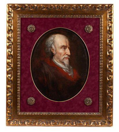 École espagnole du XIXe siècle. Portrait...