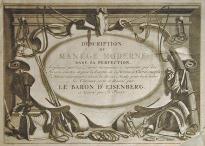 EISENBERG (Baron d'). L'Art de monter à cheval,...