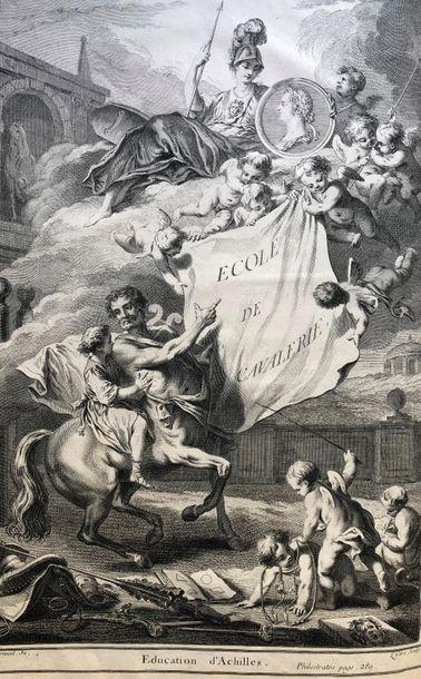 LA GUERINIERE (François Robichon de). Ecole...