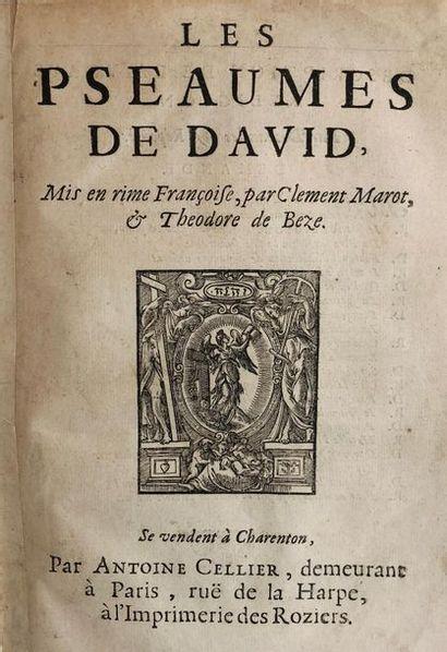 *MAROT (Clément) BEZE (Théodore de). Les...