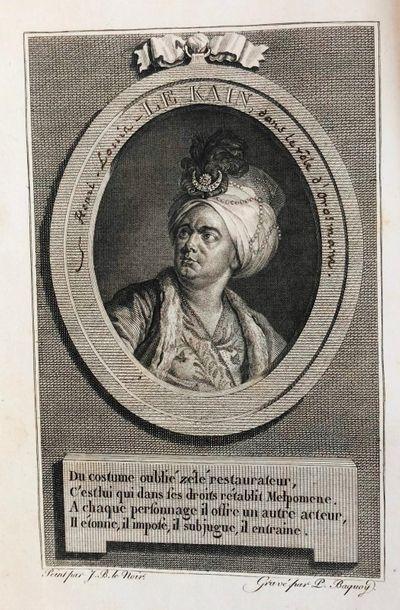 *Théâtre - LEKAIN (Henri Louis). Mémoires,...