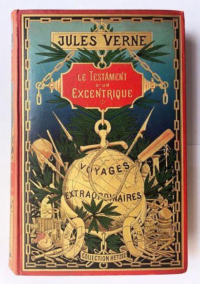 VERNE (Jules). Le Testament d'un excentrique....