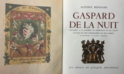 LAMOUR (Lise) BERTRAND (Louis, dit Aloysius)....