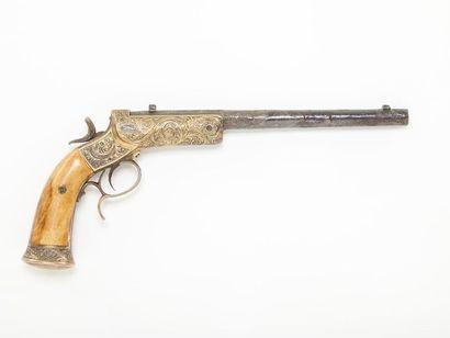 Pistolet de tir à percussion centrale à châssis...