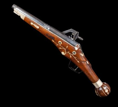 Pistolet à rouet saxon de type puffer de...