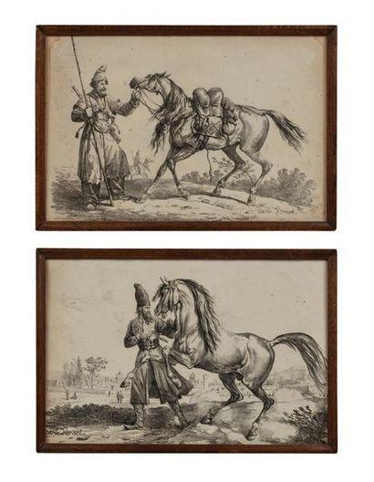 Carle VERNET (1758-1836), d'après. Étalon...