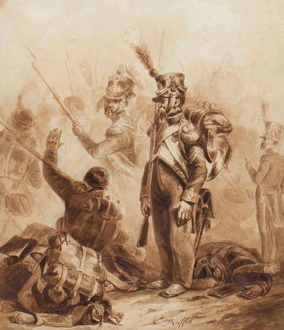 Auguste-Denis RAFFET (1804-1860). Sergent...