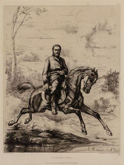 L. MERCIER, d'après. Le Général Grant (1822-1885)....