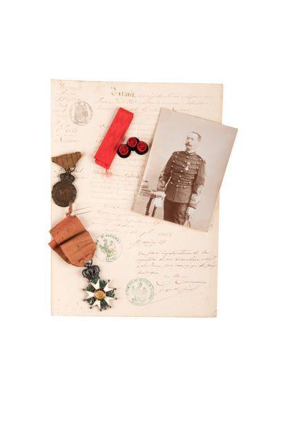 Firmin AMOUREL Légion d'honneur, chevalier,...