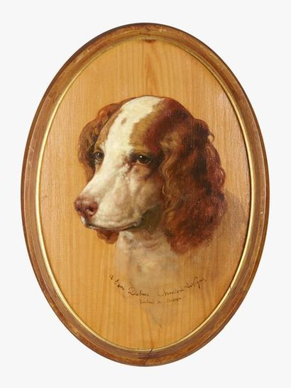 Théodore LEVIGNE (1848-1912) Portrait de...