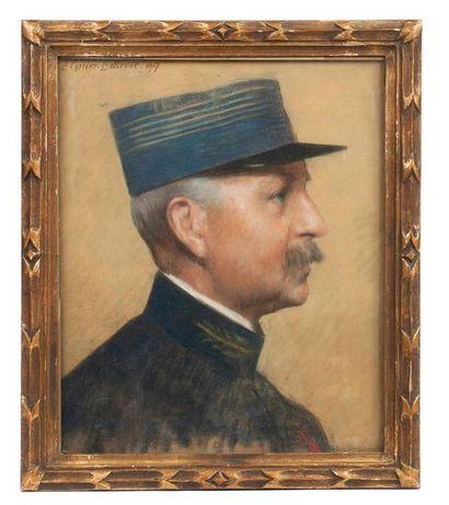 Pierre CARRIER-BELLEUSE (1851-1932). Lieutenant...