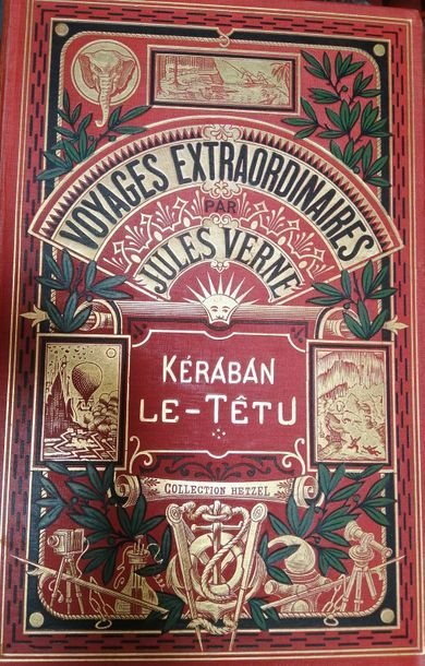 VERNE (Jules). Kéraban-le-Têtu. Paris, Hetzel,...