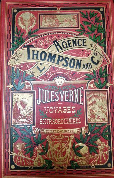VERNE (Jules). L'Agence Thompson & Co. Paris,...