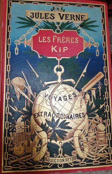VERNE (Jules). Les Frères Kip. Paris, Hetzel,...