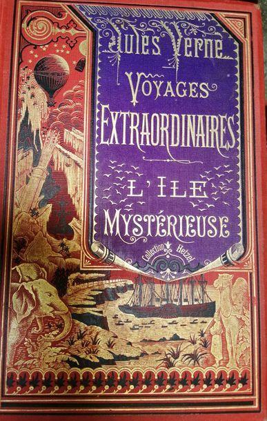 VERNE (Jules). L'Île mystérieuse. Paris,...