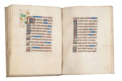 Livre d'heures manuscrit XVe siècle. Heures à l'usage de Quimper. Poitiers, [vers...