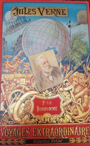 VERNE (Jules). P'tit Bonhomme. Paris, Hetzel,...