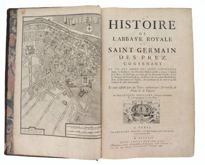 BOUILLART (Jacques). Histoire de l'abbaye...