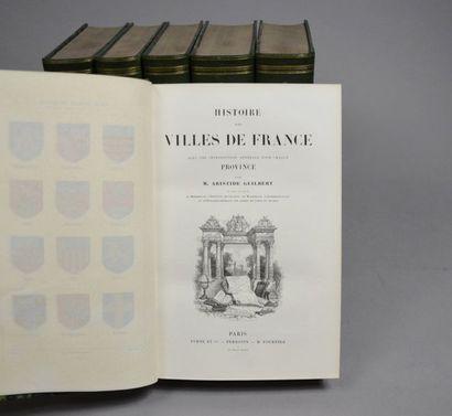 GUILBERT (Aristide). Histoire des villes...