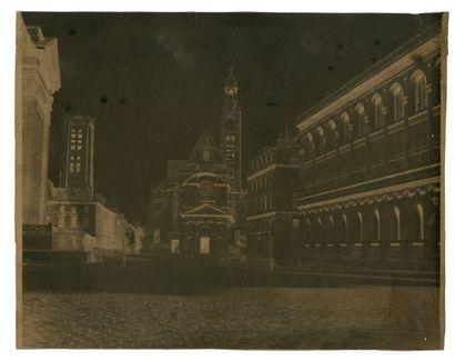 Auteur non-identifié Eglise Saint-Étienne-du-Mont,...