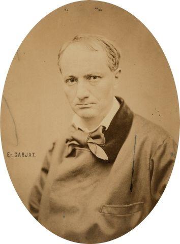 Étienne CARJAT (1828-1906) Charles Baudelaire,...