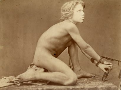 Gaudenzio MARCONI (1841-1885) Études de nu...