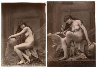 Louis Jean Baptiste IGOUT (1837-c.1881) Nu...