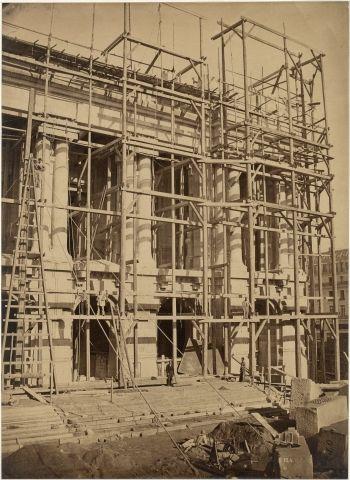 Louis-Émile DURANDELLE (1839-1917) Construction...