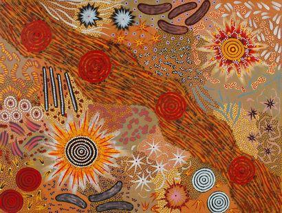 Michelle Possum Nungurrayi (1969/70 - ) Bush...