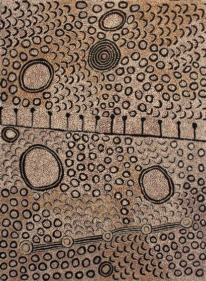 Yinarupa (Gibson) Nangala (c. 1955 - ) Sans...