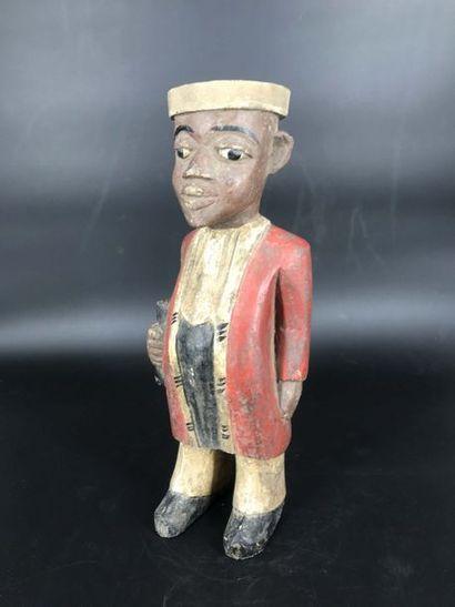 BAOULE, Côte d Ivoire, XXème siècle BAOULE, Côte d Ivoire, XXème siècle  Statue de...