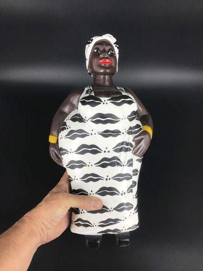 """BAOULE, Côte d Ivoire BAOULE, Côte d Ivoire  Grande statue colon d'une femme """"awoulaba"""",..."""