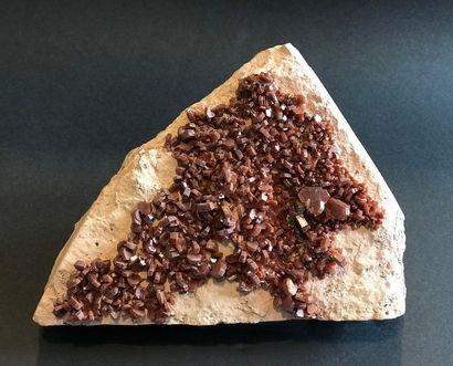 VANADINITE de Mibladen, Maroc (19 x 14 cm)...