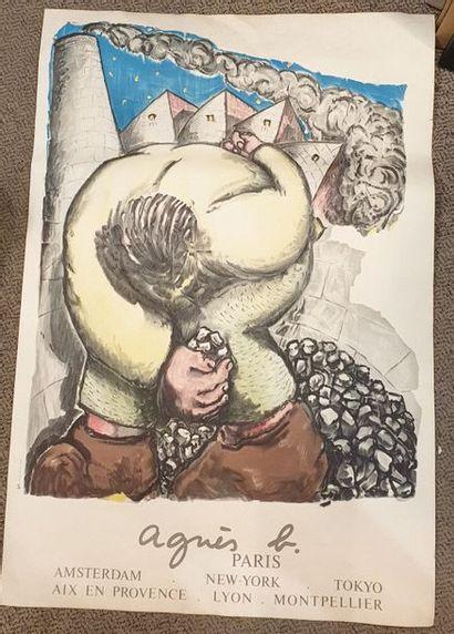 BLAIS Jean-Charles (né en 1956) Affiche pour...