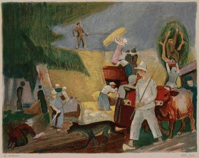 LOTIRON Robert, 1886-1966,  Lotiron, 10 estampes...