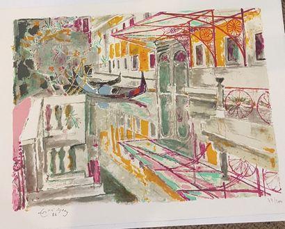 MAC AVOY Georges Edouard (1905-1991)  Venise...