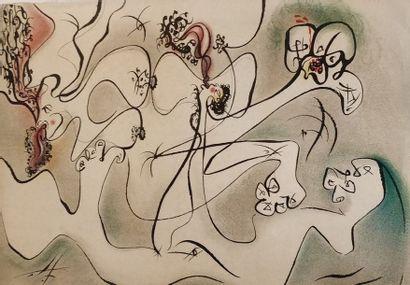 MASSON André (1896-1987)  Erotic Land, De...