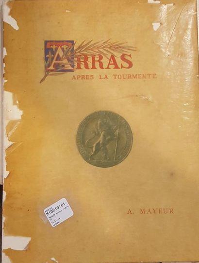 MAYEUR Arthur (1871-1934)  Arras après la...