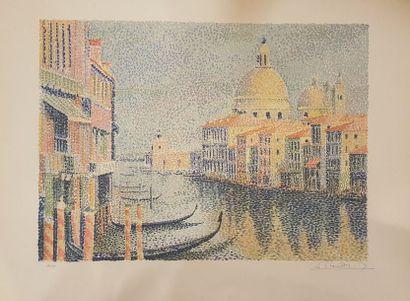 MENDJINSKY Serge, d'après  Venise, la Salute...
