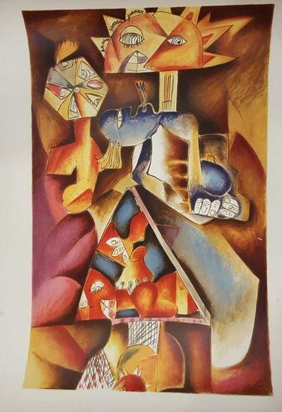 NECHITA Alexandra (1985)  Pyramide de personnages...