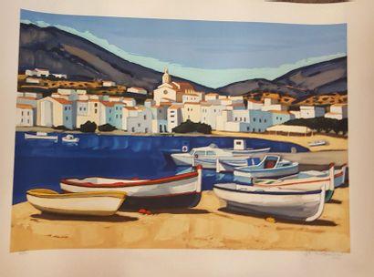 QUILICI Jean-Claude (né en 1941)  Paysages...