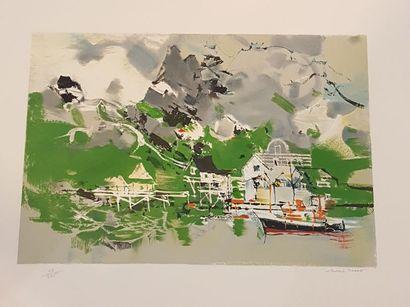 RODDE Michel (1913-2009)  Port de Norvège...