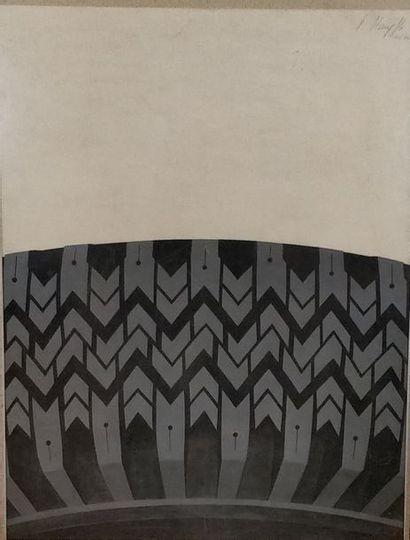 STÄMPFLI Peter (1937)  Pneu  Lithographie...