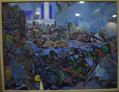 FRAYE (XXe siècle)  Le festin de Balthazar,...